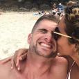 Cassandre (Koh-Lanta) et son amoureux Julien en Australie, le 4 janvier 2019.
