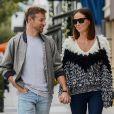 Jenson Button et sa fiancée Brittny Ward sont allés déjeuner au restaurant Il Pastio à Beverly Hills, le 10 décembre 2018