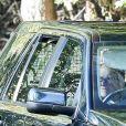 Le prince Philip, duc d'Edimbourg, à son arrivée au château de Balmoral. Le 24 septembre 2018