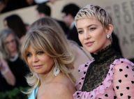Goldie Hawn très présente durant l'accouchement de sa fille Kate Hudson...
