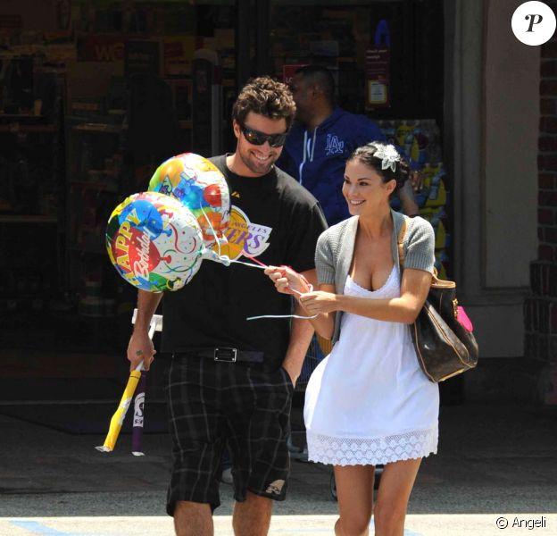 Brody Jenner et Jayde Nicole en séance shopping, à Los Angeles, le 25 mai 2009 !
