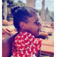 Stromae et son fils au soleil, janvier 2019.