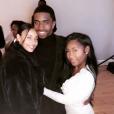 Le fils de Diddy et Kim Porter, Christian Combs (au centre). Instagram.