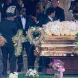 Exclusif - Sean Combs, aka P. Diddy, aux obsèques de Kim Porter, son ex-compagne et la mère de ses enfants, à Columbus dans l'Etat de Georgie le 24 novembre 2018.