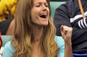 Andy Murray : la petite amie du tennisman écossais est une fan... survoltée ! Regardez !