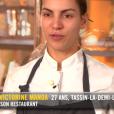 """Marie-Victorine lors du premier épisode de """"Top Chef"""" saison 10, diffusé le 6 février 2019 sur M6."""
