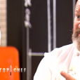 """Philippe Etchebest lors du premier épisode de """"Top Chef"""" saison 10, diffusé le 6 février 2019 sur M6."""