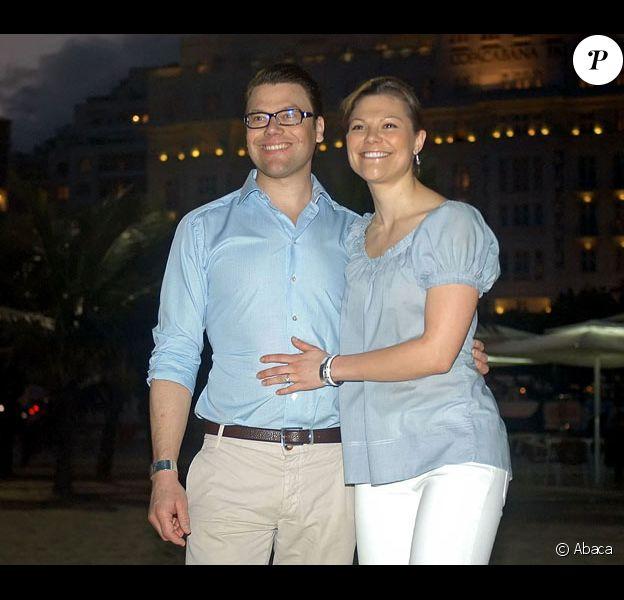 Victoria de Suède et son fiancé Daniel Westling