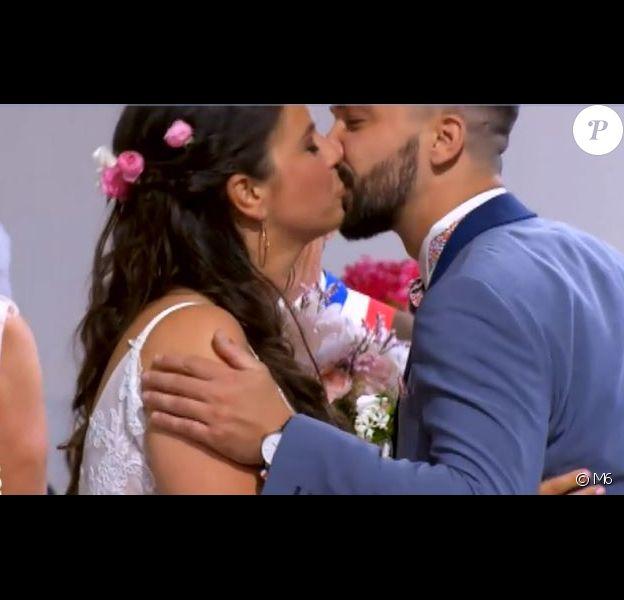 """Mariage de Marlène et Kevin - """"Mariés au premier regard 3"""", 11 février 2019, sur M6"""