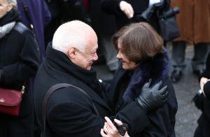 Obsèques de Michel Legrand : L'infinie tristesse de sa veuve Macha Méril
