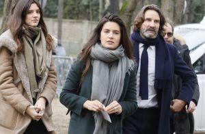 Hommage à Michel Legrand : Frédéric Beigbeder, sa femme et sa fille Chloé, émus