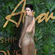 Kendall Jenner assiste aux Fashion Awards 2018 au Royal Albert Hall à Londres, le 10 décembre 2018.