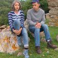 """Patrice et Sylvie - """"L'amour est dans le pré 2018"""" sur M6. Le 12 novembre 2018."""