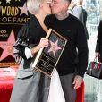 La chanteuse Pink (Alecia Beth Moore) reçoit son étoile sur le Walk of Fame à Hollywood, Los Angeles, le 5 février 2019.