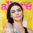 Kendall Jenner en couverture du magazine Allure. Photo par Cass Bird.