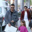 Exclusif - Scott Disick est allé faire du shopping avec sa fille Penelope et sa compagne Sofia Richie chez Gucci à Beverly Hills, Los Angeles. Le 27 janvier 2019.