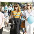 """Exclusif - Gwendoline Hamon, Justine Fraioli - Marche pour l'association """"Imagyn"""" (Initiative des MAlades atteintes de cancers GYNécologiques) lors de la journée mondiale du cancer de l'ovaire à Paris le 8 Mai 2018."""