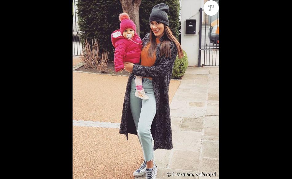 """Wafa de """"Koh-Lanta"""" et sa fille Jenna à Londres - Instagram, 4 déembre 2018"""