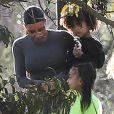 Exclusif - Kim Kardashian passe la journée avec ses enfants North West et Saint West à Los Angeles, le 28 janvier 2019