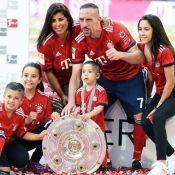 Franck Ribéry, papa pour la 5e fois avec Wahiba, révèle le sexe du bébé