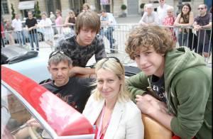 Luana Belmondo : son mari Paul Belmondo et leurs fils Alessandro et Victor mettent la gomme pour elle !
