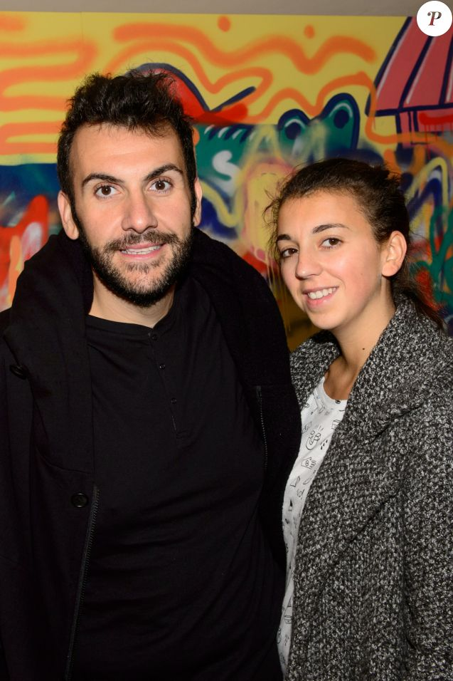 Exclusif - Laurent Ournac et sa femme Ludivine - Croco Kids Party Lacoste au Pavillon Puebla à Paris le 16 septembre 2015.