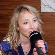 """Audrey Lamy ex-actrice de """"Scènes de ménages"""" évoque la série à succès de M6 au micro de """"Purepeople.com"""", le 22 février 2019."""