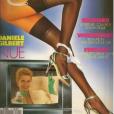 Danièle Gilbert en couverture du magazine Lui en 1988.