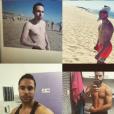 """Maxime de """"Mariés au premier regard 3"""" dévoile sa transformation physique - Instagram, 21 novembre 2015"""