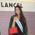 Vaimalama Chaves (Miss France 2019) lors de la présentation de la nouvelle collection Lancel lors de la Fashion Week collection prêt-à-porter automne-hiver 2019/2020 à Paris, France, le 27 février 2019. © Coadic Guirec/Bestimage