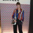 Laury Thilleman (Miss France 2011) lors de la présentation de la nouvelle collection Lancel lors de la Fashion Week collection prêt-à-porter automne-hiver 2019/2020 à Paris, France, le 27 février 2019. © Coadic Guirec/Bestimage