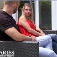 """Elodie et Steven de """"Mariés au premier regard 3"""" - 18 mars 2019, sur M6"""