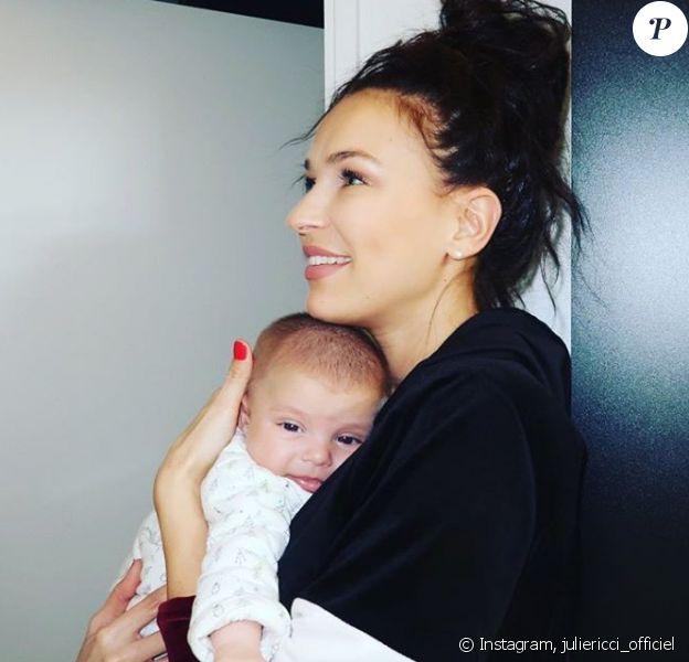 Julie Ricci et son fils Gianni - Instagram, 30 novembre 2018