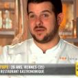 """Guillaume lors du cinquième épisode de """"Top Chef"""" saison 10, diffusé le 6 mars 2019 sur M6."""