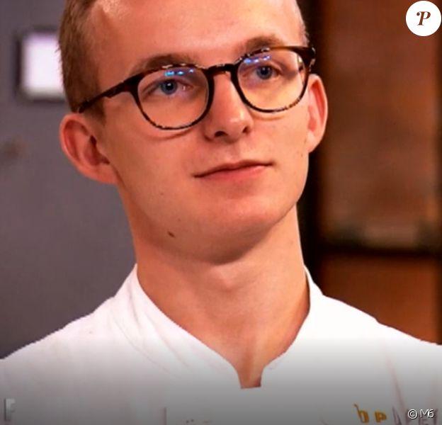 """Maël lors du cinquième épisode de """"Top Chef"""" saison 10, diffusé le 6 mars 2019 sur M6."""