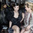 """Sofia Carson, Amber Heard - Photocall du défilé de mode Prêt-à-Porter automne-hiver 2019/2020 """"Giambattista Valli"""" à Paris. Le 4 mars 2019 © Olivier Borde / Bestimage"""