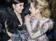 Fashion Week : Amber Heard stylée et hilare près de Cristina Cordula