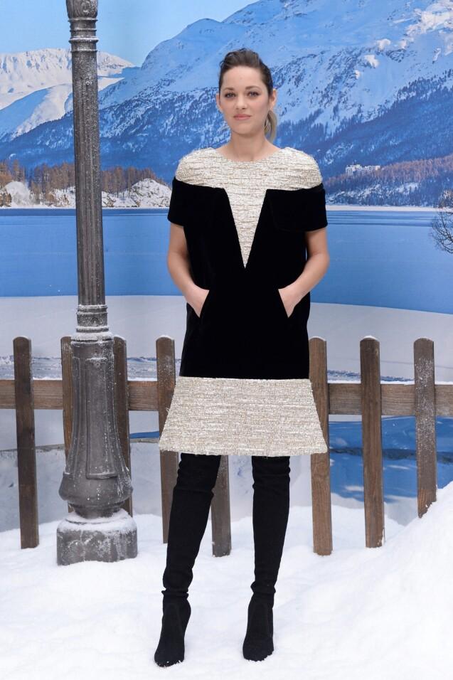 """Marion Cotillard - People au défilé de mode Prêt-à-Porter automne-hiver 2019/2020 """"Chanel"""" à Paris. Le 5 mars 2019."""