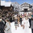 Défilé de mode Chanel collection prêt-à-porter Automne-Hiver au Grand Palais lors de la fashion week à Paris, le 5 mars 2019.