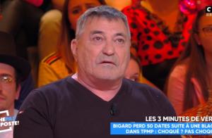 Jean-Marie Bigard ému et au bord des larmes :