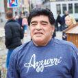 Info - Diego Maradona Junior enfin reconnu comme fils de Diego Maradona à l'âge de 29 ans - Maradona - Exclusif - Le prince Ali de Jordanie, troisième fils du roi Hussein, et demi-frère du roi Abdallah II se promène avec Diego Maradona et sa petite amie Rocio Olivia dans les rues de Vienne, le 27 mars 2015.
