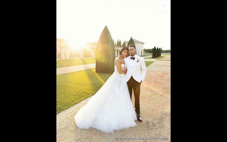 Chance the Rapper (Chancelor Bennett) et Kirsten Corley se sont mariés samedi 9 mars à Newport Beach.