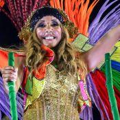 Cathy Guetta : Sequins et résille pour embraser Rio, sous les yeux de son fils