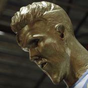 David Beckham : L'immonde statue qui l'a laissé de marbre !