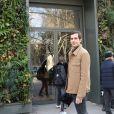 Victor Belmondo, le petit fils de Jean-Paul Belmondo - Personnalités au studio Gabriel pour l'enregistrement de l'émission Vivement Dimanche à Paris le 20 février 2019.