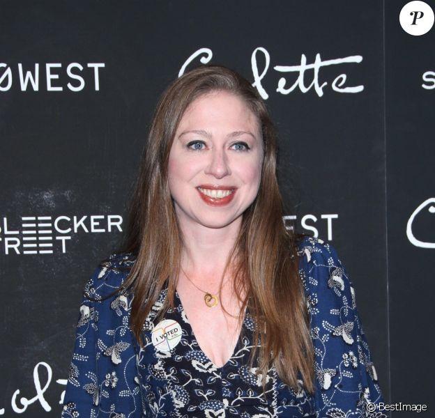 Chelsea Clinton - Les célébrités arrivent à la projection du film Colette au MoMa à New York le 13 septembre 2018.