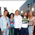 Steevy, LAure, Fabrice, David et Delphine de Loft Story saison 1