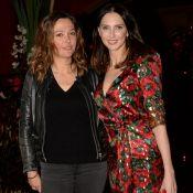 Sandrine Quétier plongée dans une ambiance sombre avec Frédérique Bel