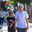Emma Roberts et Evan Peters à Los Angeles, le 4 août 2018.