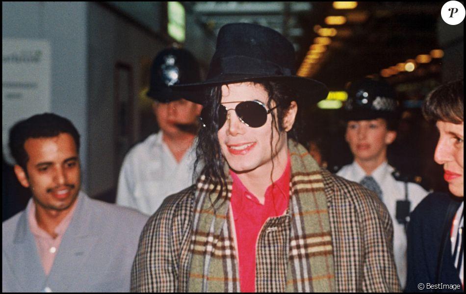 Michael Jackson à Londres, le 8 octobre 1992.